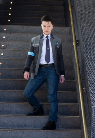 Detroit Become Human Connor Cosplay Travian Designs